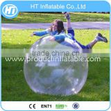 Dia 2m Transparent PVC or TPU Inflatable Aqua Ball with Blower / Water Ball Walking in Pool