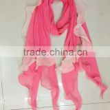 wholesale viscose / rayon rectangular silk twill silk scarf square