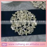 sliver &gldHot Wedding Bridal Silver Rhinestone Crystal Pearl Brooches Brooch Bouquet Pin