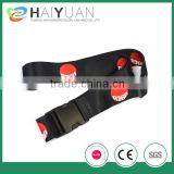 full color sublimation luggage strap with adjustable buckle