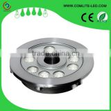 RGB 3in1 9x2w LED Fountain Lights, Water Dance LED Lights