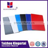 Alucoworld fire proof with PE coated aluminium composite panel for kitchen cabinets