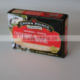High quality Canned Smoked Oysters with sunflower oil
