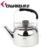 Beautiful and fashional Charms 1.7l with big water window cordless stainless steel electric kettle