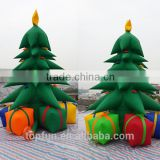 Outdoor Inflatable Christmas Tree For Christmas Decoration With 4 Pieces Gift Bag