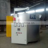 Small melting furnace for aluminum and aluminum scrap