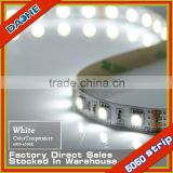 SV Hot White SMD 5050 60LED/M Strip Light Led Tape No-waterproof IP20 High Brightness Factory Direct Wholesale Lowest Price