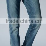 European-styled jeans plus thick Business jeans straight and skinning fitting denim garment factory denim trousers