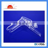 disposable plastic vaginal speculum push pull type S M L South America hot sale CE ISO certified