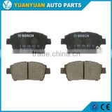 toyota yaris parts 04465-12592 front brake pads for toyota celica toyota corolla 1999 - 2007