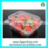 New style High quality PET plastic disposable fresh strawberry fruit packaging box                                                                         Quality Choice