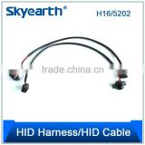 OEM Products Extend The Length Between The Car Power Supply And Ballast H1 PVC Power Cable