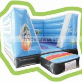 Cheer Amusement indoor space theme european mini inflatable trampoline