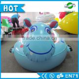 Top quality!!!motorized bumper boats,amusement river rafts and tubes,4 person towable tube