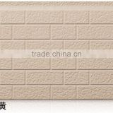 exterior wall panel / exterior Insulated decorative wall panel / Environmental pu sandwich panel /