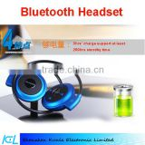 2015 colorful Universal Wireless Stereo Bluetooth Earphone Sport Headset with Built-in Microphone For iPhone Samsung