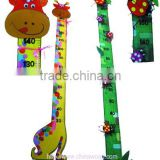 Kids Animal Wooden Growth Chart and Ruler