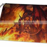 small flat heat transfer printed digital printing large mouse pad