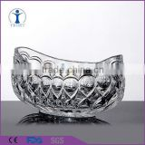 New type customized Popular original clear Boat-shaped Fruit tray                                                                         Quality Choice