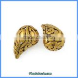 Wholesale Trend Antique Gold Pendant Drop Shape Jewelry Findings PB-P6202