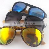new bamboo arms round sunglasses,wood arms round sunglasses,retro round bamboo sunglasses