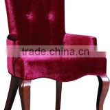 Home Furniture Living Room Sofa /Modern Red Armchair Luxury Sofa Chair /Leisure Fabric 1 Seat Chair