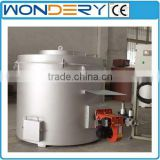 Oil-fired Aluminum Scrap & Copper Scrap Crucible Melting Furnace                                                                         Quality Choice