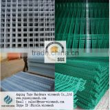 Galvanized Welded wire mesh Panel / PVC Coated Welded wire mesh Panel for rabbit cages ( ISO 9001 SGS direct factory wholesales)