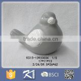 Garden Decoration Ceramic Bird-shaped Statue for Sale