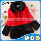 girls boutique clothing faux fur winter coat for baby girl fur coats