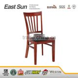 solid wood chair/wooden restaurant cafe chair/dining chair