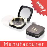 Hot Sale High End Black Plastic Powder Blush Container