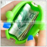 Hot selling good quality gift silicone coin purse&women wallet&silicone coin holder