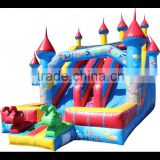 china octopus slide giant commercial inflatable castle slide