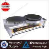 Heavy Duty Professional 400mm Hot Plate Double Industrial crepe maker