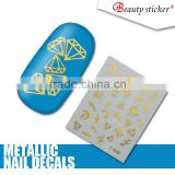 Decal stickers, nail stickers for girls, custom nail art stickers nail art decal
