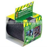 Black Gator Grip Anti Slip Safety Grit Tape 4 Inch by 15-Foot