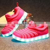2016 Super Hot LED sport shoes!Usb Charger Led Flashing Kids Shoes, Light sport shoes for Children running