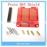 DIY Proto HAT Shield for Raspberry Pi 2 Model B / B+ / A+ ( Red) A203