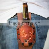 Beverage Beer Bottle Can Leather holster