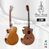 40inch Poplar wood back custom cheap acoustic guitar for China music instruments (L-707)