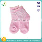 Cheap Price Branded Girls Anti-Slip Grip Slipper Socks With Rubber Sole