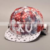 Hot selling Galaxy space hat snapback caps Men Women's outdoor sports Baseball cap Rainbow custom Flat hiphop visor Snapback