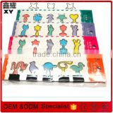 Hight quality animal designs silver wire metal binder clips