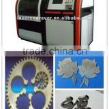 Hot Sale! small scale YAG laser cutting machine DW-0505/0404/0303 cutting surface smooth less dross