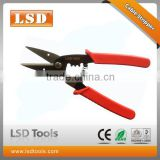 LS-104C multi-function tool 30mm max cable cutter,1.5-2.5mm2 wire stripper automatic rebound spring cable cutter stripper