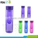 hot sale 750 ml Tritan jorshaker fruit Infuser water bottle with handle