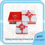 Luxury Mini suitcase Paper gift box with beautiful color OEM supplier