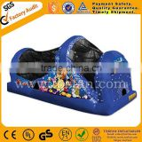 Commercial inflatable trampoline indoor slide A4056