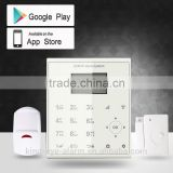 WIFI/GPRS/GSM/SMS network 100 ~ 240V input AC detector alarm